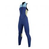 Гидрокостюм женский длинный без рукавов Aqua Marina VENICE NAVY 2020