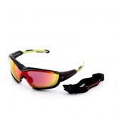 Очки Kiteflash SupFlash Maui Galaxy Black Amalgam lenses red