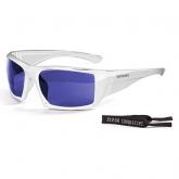 Очки Ocean ARUBA глянцевые белые / зеркально-синие линзы