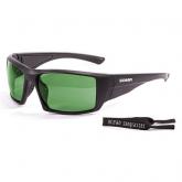 Очки Ocean ARUBA матовые черные / зеленые линзы