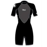 Женский гидрокостюм Body Glove 2015 Pro3 2/1MM Springsuit Shoty Black
