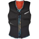 Жилет водный Mystic Gem Impact Vest Fzip Kite Black 2020