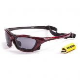 Очки Ocean Lake Garda красные / черные линзы