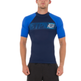 Гидромайка мужская короткий рукав Jetpilot Corp S/S Rashguard Blue 2018