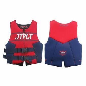 Спасательный жилет для гидроцикла неопрен детский Jetpilot Matrix Race Youth Neo Vest ISO 50N Navy/Red 2020